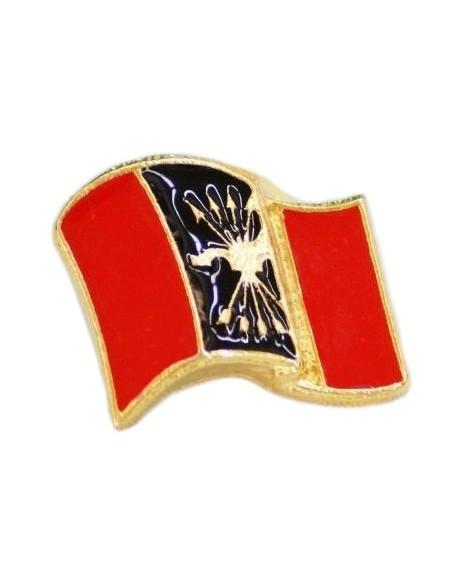 Glazed Phalange Flag Pin