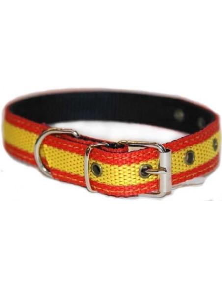 Collar Perro Pequeño Bandera España