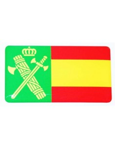 Pegatina Guardia Civil Relieve