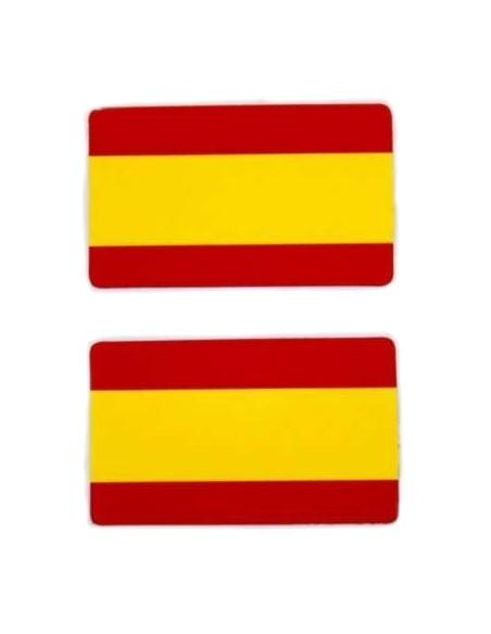 Sticker Flag Spain Tv x2