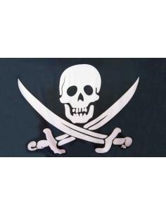 Bandera Pirata Jolly Espada