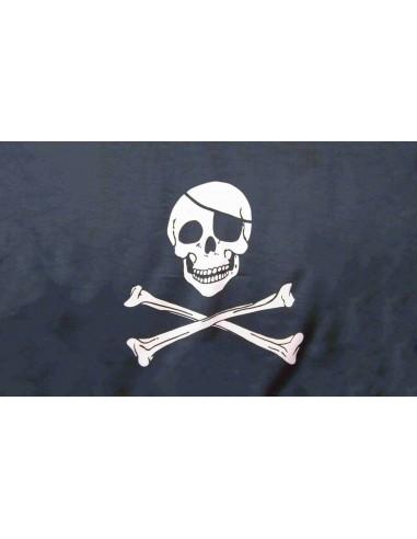 Bandera Pirata Jack Hueso