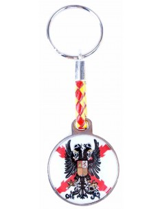 Flandes Corps Rounded Key Ring
