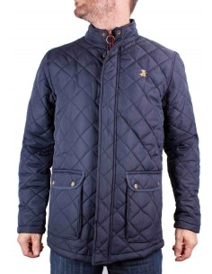 Men Parka navy blue