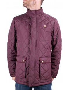Men Parka - Burgundy