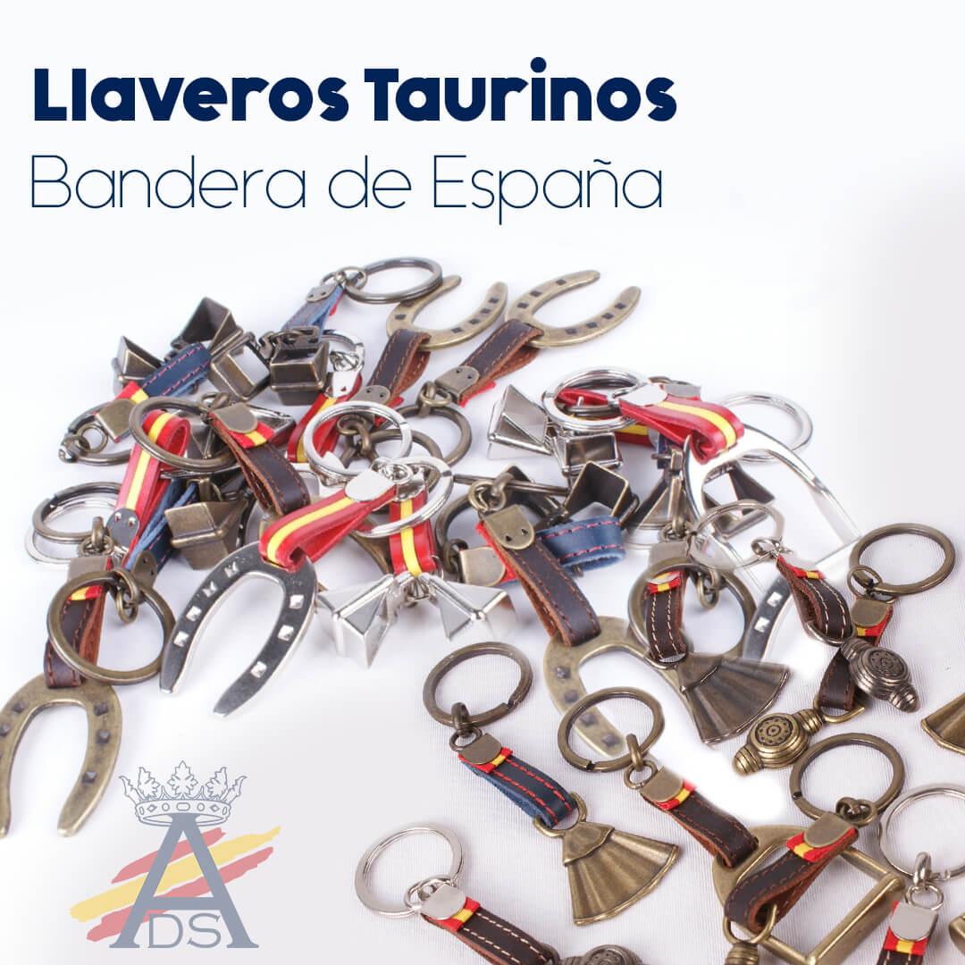 LLAVEROS TAURINOS BANDERA ESPAÑA